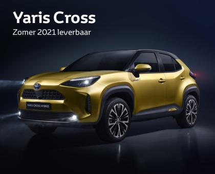 Nieuwe Mengelers Toyota Yaris Cross