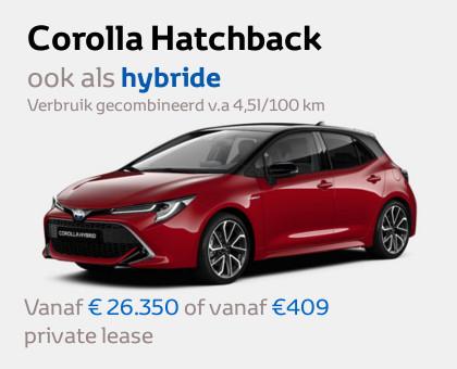 Nieuwe Mengelers Toyota modellen