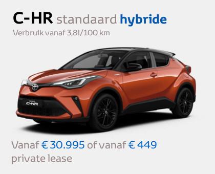 Toyota C-HR modeljaar 2020