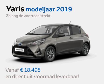 Toyota Yaris modeljaar 2019