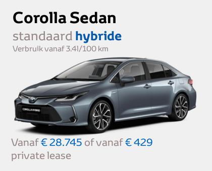 Mengelers Toyota - Corolla Sedan