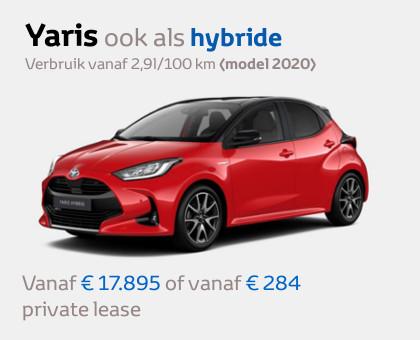 Toyota Yaris modeljaar 2020