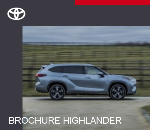 Mengelers Toyota Highlander - Brochure