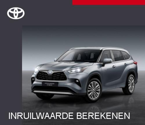Mengelers Toyota Highlander - Bereken inruilwaarde