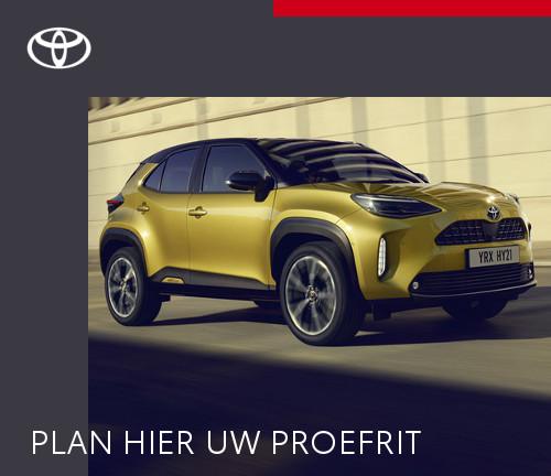 Mengelers Automotive Limburg - Toyota Yaris Cross Proefrit