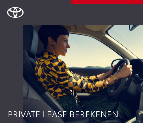 Mengelers Automotive Limburg - Toyota Yaris Cross Private Lease