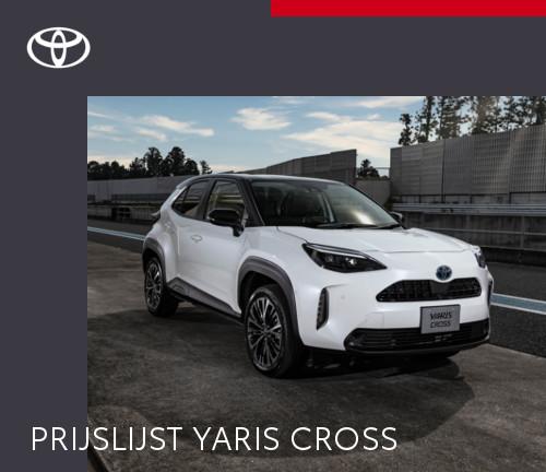 Mengelers Automotive Limburg - Toyota Yaris Cross PRIJSLIJST