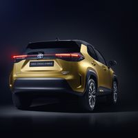 Mengelers Automotive modellen - Toyota Yaris CrossAchterkant