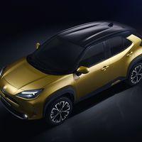 Mengelers Automotive modellen - Toyota Yaris Cross bovenaanzicht
